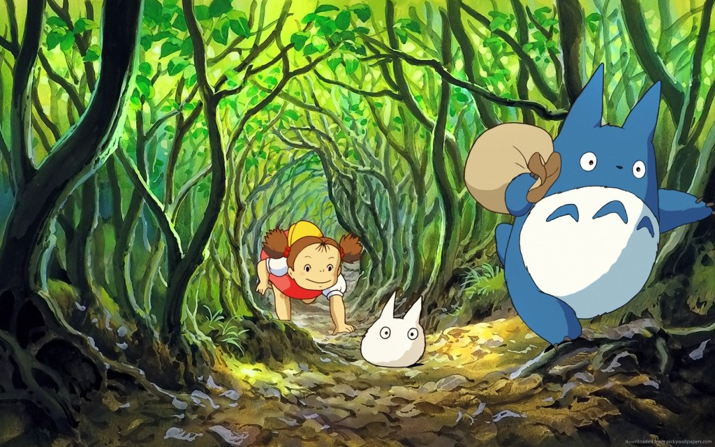 my-neighbor-totoro-crawling-through-bush